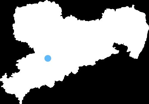 Saxony Map
