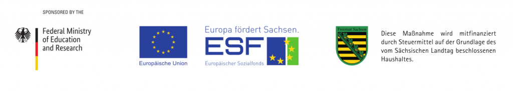 Funding Logos BMBF and ESF