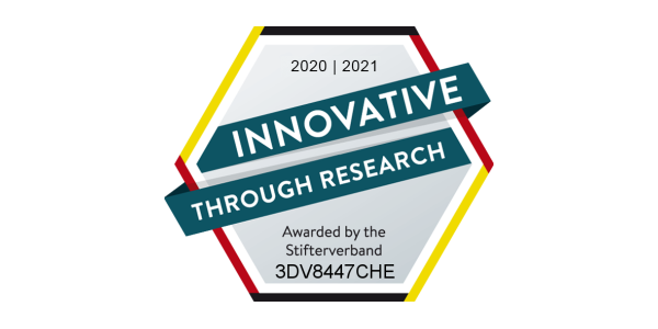 Innovation through Research Seal